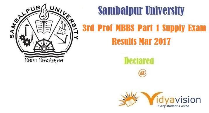 SPU MBBS Results